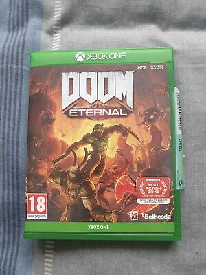 DOOM Eternal (Xbox one, 2020) Played through once
