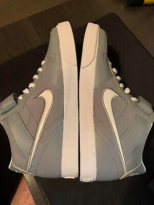US13 Nike Sellwood Mid AC - Grey/White High Top