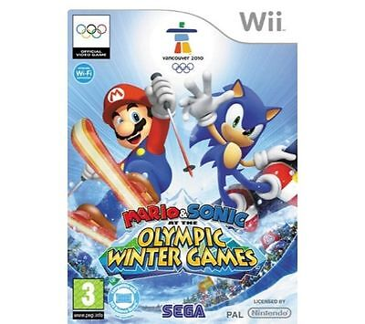 Mario & Sonic at the Olympic Winter Games (Wii, 2009)