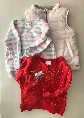 Sprout Jumpers And Reversible Vest Size 1