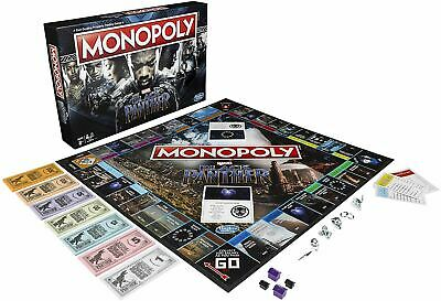 Monopoly Black Panther Marvel Edition Board Game