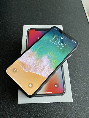 Apple iPhone X - 64GB - Space Grey (Unlocked) A1901 (GSM) - Pristine Condition