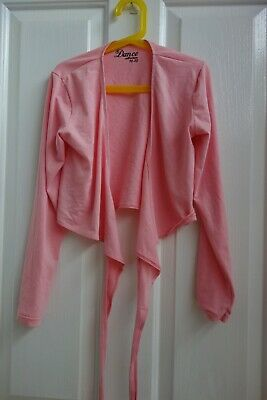 Dance Collection-Size 10-12- Wrap Top dance ballet girls pink long sleeve