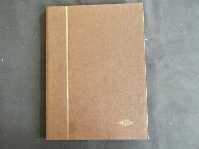 Worldwide - Thirty Two Sided Brown Stock Book Stamps Mint And Used