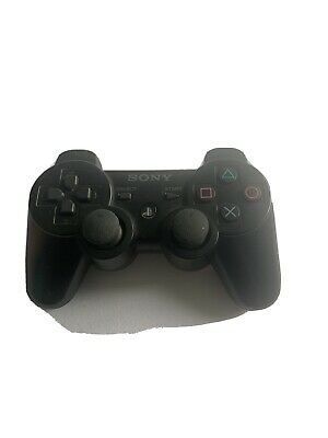 Official Playstation 3 DualShock 3 Sixaxis Black Wireless Controller Sony PS3