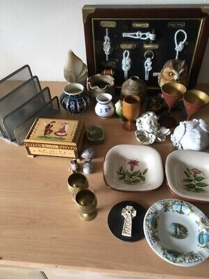Job lot of antique & craft items LOOK clearance will separate unusual lot