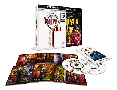 Knives Out 4K Ultra HD Blu-ray Limited Edition Only 1,000 HMV Sold Out Brand New