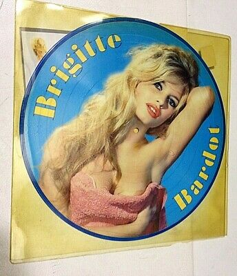 Brigitte Bardot – The Early Years - VINYL LP Picture Disc  -  MINT NEW