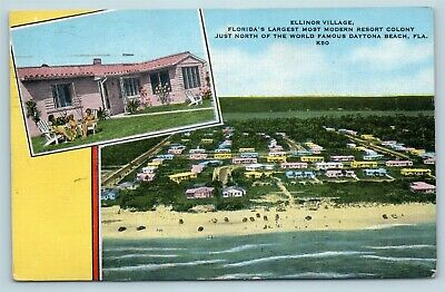 Hotel Ormond,resorts,buildings,roads,streets,carriages,Beach,Florida,FL,c1900