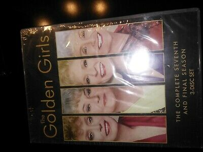 The Golden Girls Complete Series DVD Bundle Season 1-7 (21-Disc)