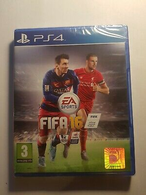 New And Sealed  Sony Ps4 Fifa 16 Video Game