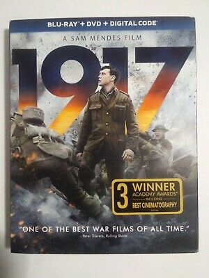 1917 (Blu-ray + DVD + Digital Code) with slipcover NEW/SEALED