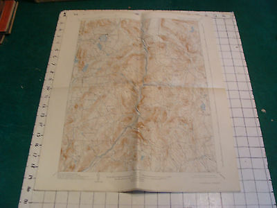 topographical map: CONNECTICUT-NEW YORK CORNWALL QUADRANGLE 1927