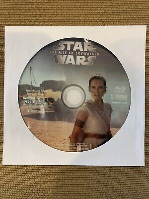Star Wars The Rise Of Skywalker Blu Ray DISC ONLY