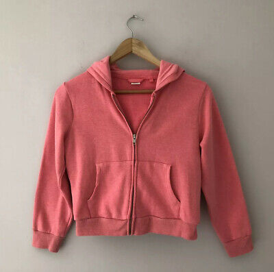 NEXT Girls Pink Hoodie Age 8 Years