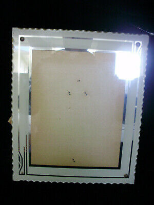 """Vintage Art Deco Picture Frame 10"""" X 12"""" With Easel Back"""