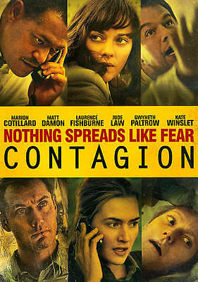 FREE SHIP Contagion NEW DVD  2011 outbreak