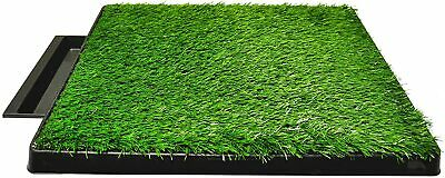 Downtown Pet Supply Dog Pee Potty Pad, Bathroom Tinkle Artificial Grass Turf, Po