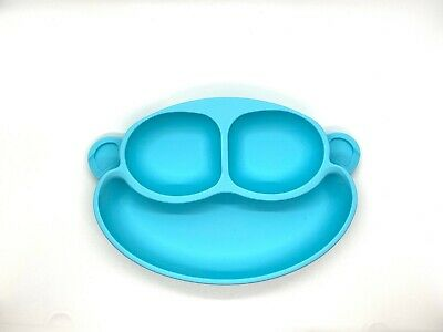 Silicone Suction Kids Plate (Dishwasher Safe)