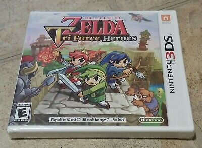 The Legend of Zelda: TriForce Heroes, Nintendo 3DS, Factory Sealed