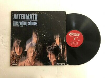 THE ROLLING STONES Aftermath LP London PS-3476 US 1966 VG- MONO RED LABEL 05B