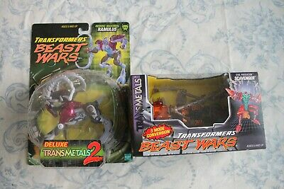 Transformers Beast Wars lot Scavenger and Ramulus complete rare