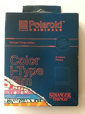Polaroid Originals Stranger Things Edition Color i-Type Instant Film ~Sealed Box