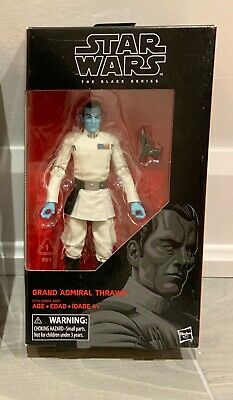 "Star Wars The Black Series Grand Admiral Thrawn 6"" Figure #47 Rebels NEW MIB"