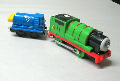 Thomas & Friends, Trackmaster, STEAMING PERCY, MATTEL 2014, EUC