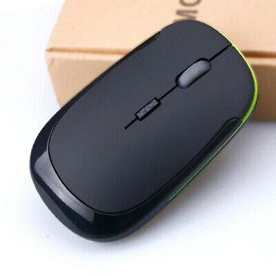 UK 2.4GHz USB Wireless Mouse Cordless Optical Scroll Mice For PC Laptop Computer
