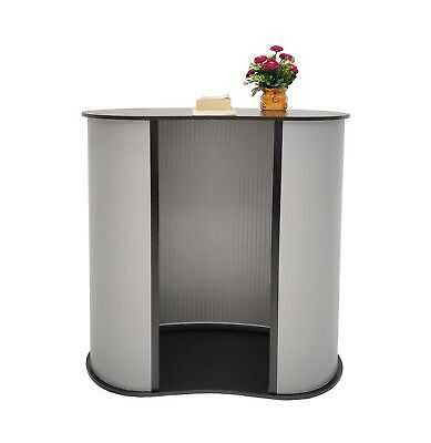 Portable Lightweight Tradeshow Podium Lectern Pulpit Economy Event Party Table