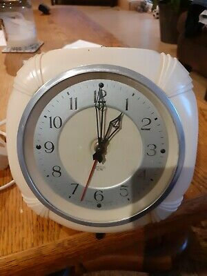 Vintage Smiths Electric Wall Clock