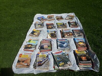 Railway Digest Mags Lot x 151 from 2000s + 13 other miscellaneous train titles
