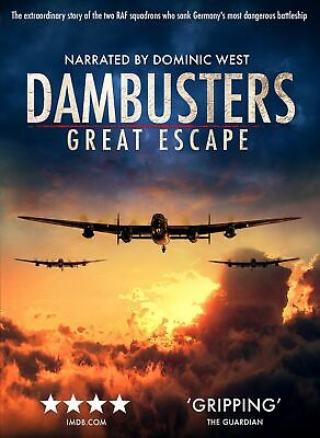 The Dambusters - Great Escape [DVD] RELEASED 04/05/2020