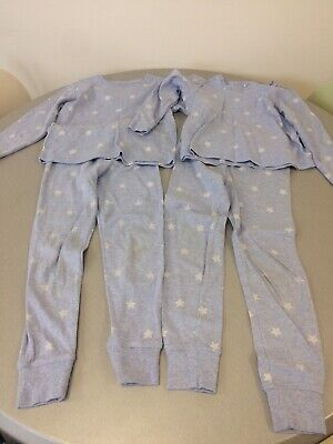 Boys Pjs, Blue With White Stars, Age 5-6 Years