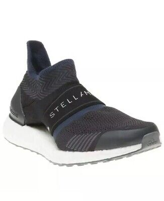 New Womens Adidas Stella McCartney Black Ultraboost X 3.D Vegan Trainers  UK 5.5
