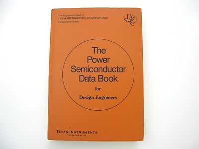 Fachbuch Texas Instruments The Power Semiconductor Data Book 1974 ...