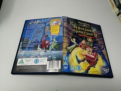 The Hunchback Of Notre Dame 2 - The Secret Of The Bell ( Disney DVD ) Kids Movie