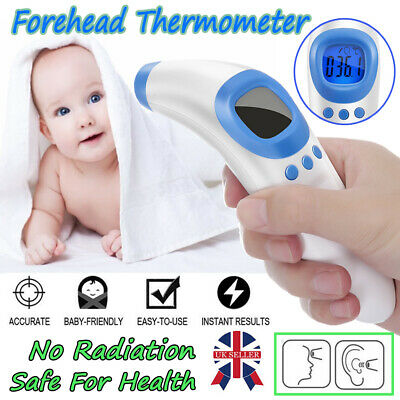 Baby Kids Adult Forehead Body Ear Thermometer Digital IR Infrared Termometer UK