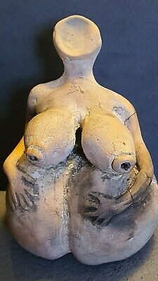 Very Rare pottery, IDUL Neolithic Age , GODDESS MOTHER ,circa 2800 BC RESTORED !