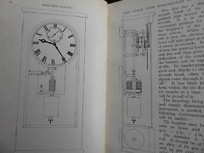 Vintage Electric Clocks Hipp Synchronome Free Pendulums 1940S Book Hope-Jones