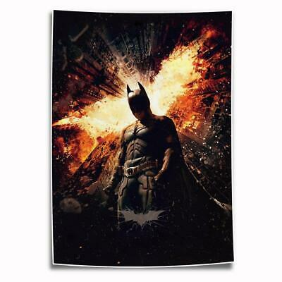"""8""""x12"""" DC Batman Paintings HD Print on Canvas Home Decor Wall Art Pictures photo"""