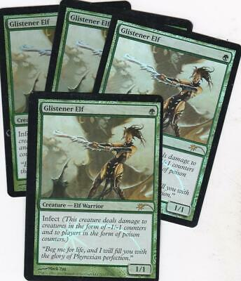 FNM Promo Magic the Gathering MTG 1x FOIL Glistener Elf NM