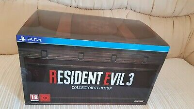 Resident Evil 3 Remake Collector's Edition PS4 UK PAL EU BRAND NEW *PRE ORDER*