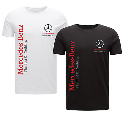 Mercedes Benz The Best Or Nothing Men/'s T-Shirt Gift DTG Printed