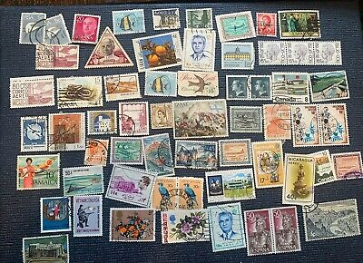 Lot Of Worldwide Stamps From Estate Collection