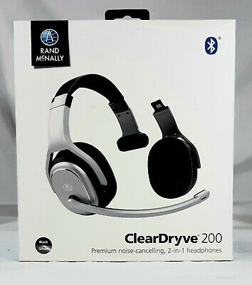 Rand McNally ClearDryve 200 Noise-Cancelling 2-In-1 Headphones-Headset