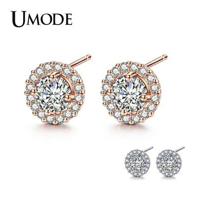 World Peace Out Sign Hippie Symbol Cubic Zirconia White CZ Stud Earrings For Women For Teen Silver Plated Brass