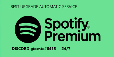Spotify Premium Upgrade | Lifetime | Instant Delivery | New 2020 |