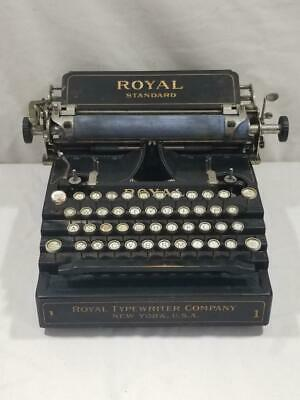 Antique Royal Standard No 1 Typewriter   FREE USA SHIP